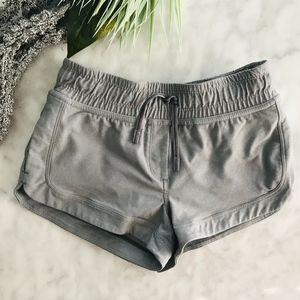 Ivivva by Lululemon Girls Grey Shorts 7 Gym Soccer